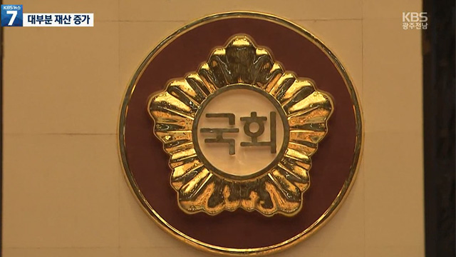공직자 재산공개…광주·전남은?