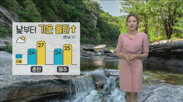 [날씨] 강원 영동 낮부터 기온 올라…곳곳에 안개
