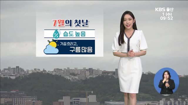[날씨] 울산 오늘 흐리고 습도 높음…식중독지수 '경고'